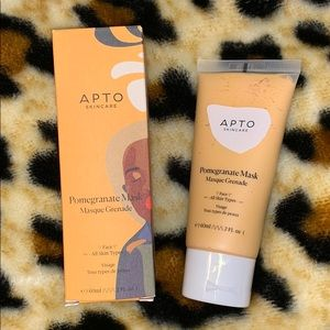 🆕 APTO Skincare Pomegranate Face Mask full sized